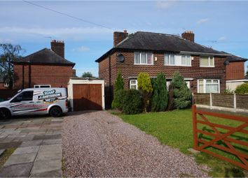 Thumbnail 3 bed semi-detached house for sale in Gladeside Road, Manchester