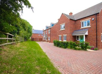 Thumbnail 4 bed detached house for sale in Greenell Close, Milton Keynes