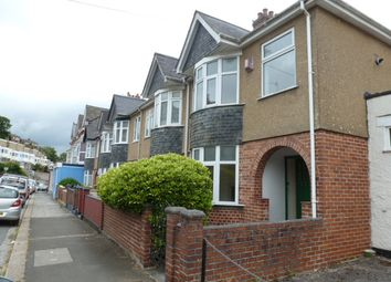 Thumbnail 3 bed end terrace house to rent in Priory Road, Lower Compton, Plymouth