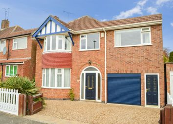 Thumbnail 5 bed detached house for sale in Sedgebrook Road, Evington, Leicester