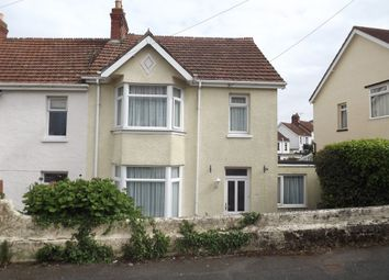 Thumbnail 4 bedroom end terrace house for sale in Leys Road, Chelston, Torquay