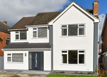 Thumbnail 4 bed detached house for sale in Lodge Crescent, Warwick