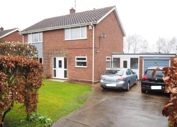 Thumbnail 4 bed detached house for sale in The Close, Averham, Newark