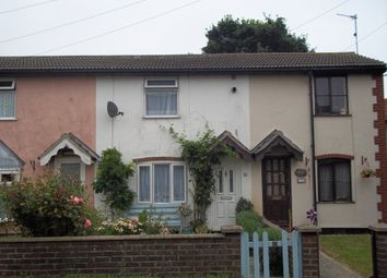 Thumbnail 2 bedroom terraced house to rent in Church Road, Kessingland, Lowestoft