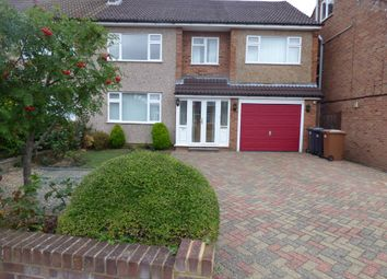 Thumbnail 4 bed semi-detached house to rent in Cozens Road, Ware, Herts