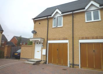 Thumbnail 2 bed flat to rent in Whitebeam Close, Hampton Hargate, Peterborough