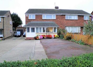 Thumbnail 3 bed semi-detached house for sale in Glastonbury Close, Bletchley, Milton Keynes