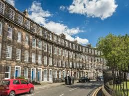 Thumbnail 2 bed flat to rent in Gardners Crescent, West End, Edinburgh