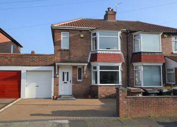 Thumbnail 2 bed semi-detached house for sale in Allendale Avenue, Wallsend, Tyne And Wear