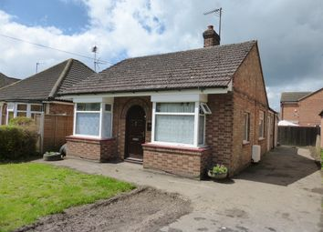 Thumbnail 2 bedroom detached bungalow for sale in Harecroft Road, Wisbech