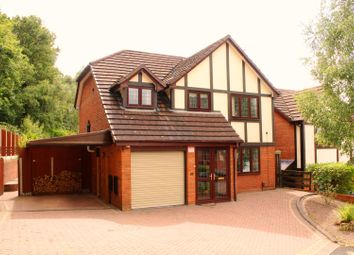 Thumbnail 4 bed detached house for sale in Hopton Drive, Kidderminster