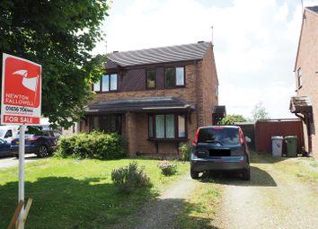 Thumbnail 2 bed semi-detached house for sale in Kingfisher Close, Balderton, Newark