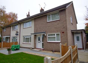 Thumbnail 2 bed flat for sale in Coopers Close, Wrexham