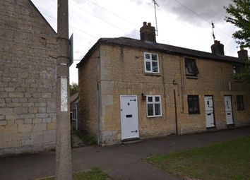 Thumbnail 1 bedroom end terrace house to rent in Main Street, Ailsworth, Peterborough
