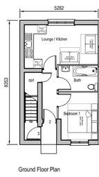 Thumbnail 1 bedroom maisonette for sale in Bursledon Road, Southampton