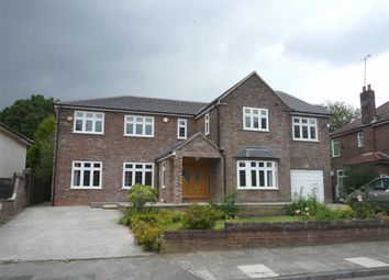Thumbnail 5 bed detached house to rent in Sefton Drive, Worsley, Manchester