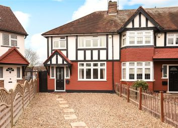 Thumbnail 3 bed end terrace house for sale in Cherry Close, Ruislip, Middlesex