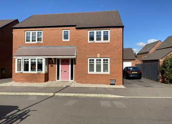Thumbnail 4 bed detached house for sale in Mill Hill Wood Way, Ibstock