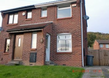 Thumbnail 1 bed semi-detached house to rent in Abbeydale Garth, Leeds