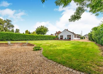 Thumbnail 4 bed detached bungalow for sale in Station Road, Great Billing, Northampton