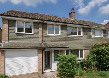 Thumbnail 4 bed semi-detached house to rent in Spinney Close, Exeter