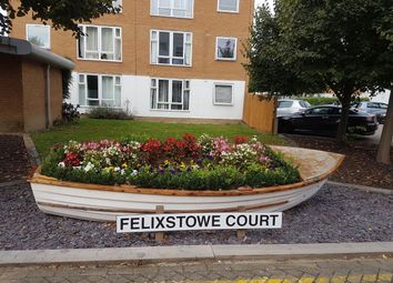 Thumbnail 1 bed flat to rent in Felixstowe Court, Woolwich Manor Way, London