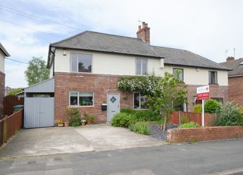 Thumbnail 4 bed semi-detached house for sale in Elm Street, Hollingwood, Chesterfield
