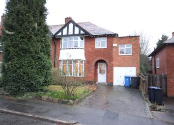 Thumbnail 4 bed semi-detached house for sale in Park Drive, Littleover, Derby