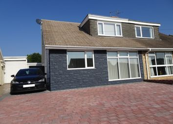 Thumbnail 4 bed semi-detached house for sale in Fulmar Road, Porthcawl