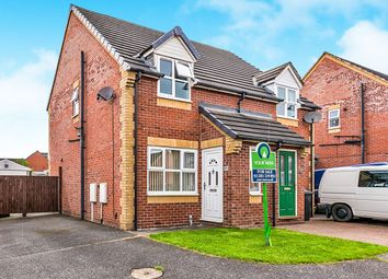 Thumbnail 2 bed semi-detached house for sale in Ladyfields Way, Newhall, Swadlincote