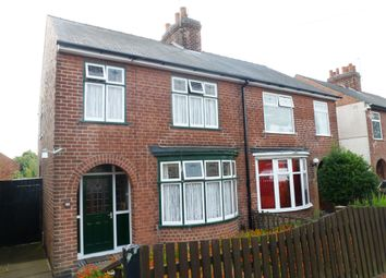 Thumbnail 3 bed semi-detached house for sale in Three Tuns Road, Eastwood, Nottingham
