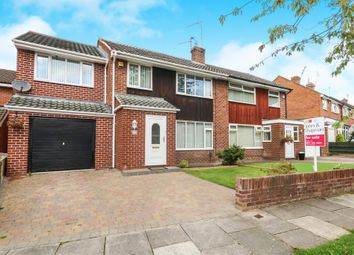 Thumbnail 4 bed semi-detached house for sale in Princes Avenue, Eastham, Wirral