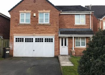 Thumbnail 4 bed detached house to rent in Portland Drive, Winsford, Cheshire