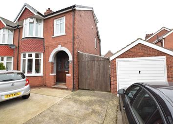Thumbnail 3 bedroom semi-detached house for sale in Leornard Crescent, Scunthorpe