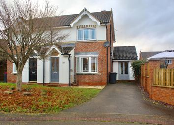 Thumbnail 3 bed semi-detached house for sale in Plumb Leys, Treeton, Rotherham