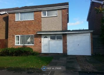 Thumbnail 3 bed detached house to rent in Hazel Drive, Lutterworth
