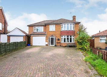Thumbnail 5 bed detached house for sale in Langholme Drive, York, North Yorkshire