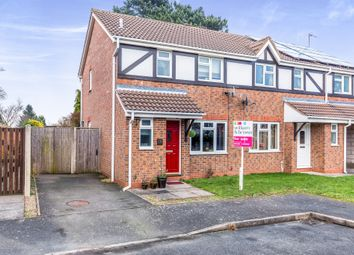 Thumbnail 3 bed semi-detached house for sale in Domont Close, Shepshed, Loughborough