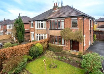 Thumbnail 3 bed semi-detached house for sale in West Park Drive West, Leeds, West Yorkshire