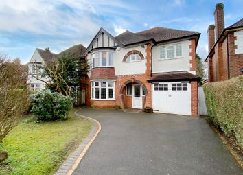 Thumbnail 5 bed detached house for sale in Thornby Avenue, Solihull