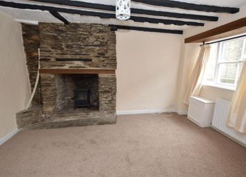 Thumbnail 3 bed terraced house to rent in West Street, Liskeard, Cornwall