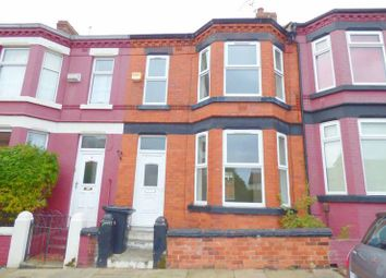 Thumbnail 3 bed terraced house to rent in Rawcliffe Road, Birkenhead