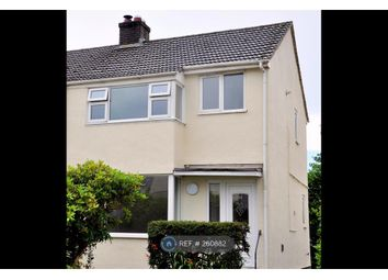 Thumbnail 3 bed semi-detached house to rent in Margaret Crescent, Bodmin