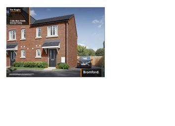 Thumbnail 1 bed semi-detached house for sale in Weavers Way, Stockton, Southam