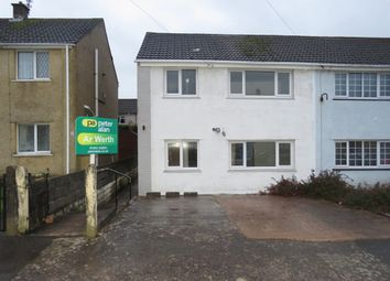 Thumbnail 3 bedroom semi-detached house for sale in Pleasant View, Beddau, Pontypridd