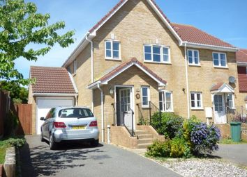 Thumbnail 3 bed semi-detached house for sale in Haven Way, Newhaven, East Sussex