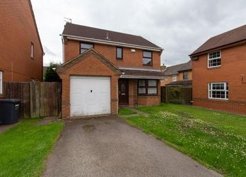 Thumbnail 4 bed detached house to rent in Cherrybrook Close, Leicester
