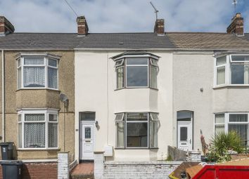 Thumbnail 2 bed terraced house for sale in Crescent Road, Newport