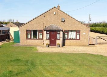 Thumbnail 3 bedroom detached bungalow for sale in Mill Road, Magdalen, King's Lynn
