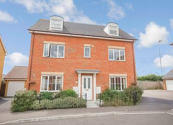 Thumbnail 5 bed detached house for sale in Stanford Road, Thetford, Norfolk